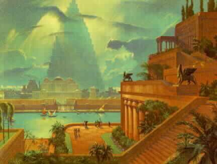 Rdm Die 7 Weltwunder Die Hängenden Gärten Der Semiramis